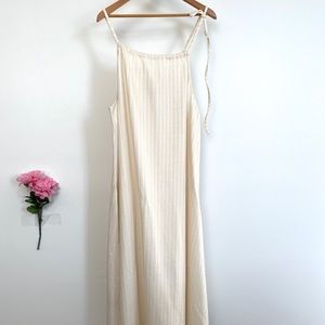 Free People Dresses - 🆕 FREE PEOPLE Tie Strap Midi Dress